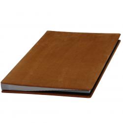 Signature Folder made of Nubuk Leather - Vera Donna