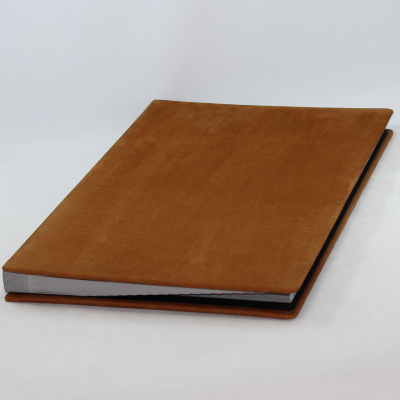 Signature Folder made of Nubuk Leather - Vera Donna