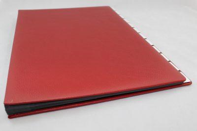 Desk Folder in full Cowhide - Vera Donna