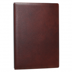 Signature Folder made by shrink leather rustico - Vera Donna