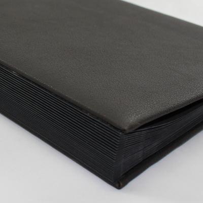 Alphabetical Desk File Sorter made of Buffalo Leather