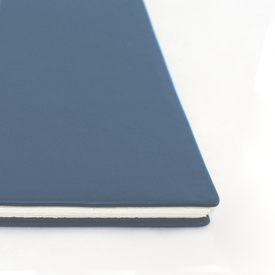 Business Folder DIN A4 made of Blue Cowhide Leather - Vera Donna