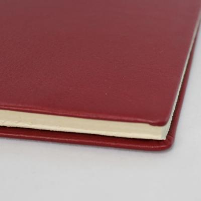 Business Folder full Cowhide in Burgundy - Vera Donna