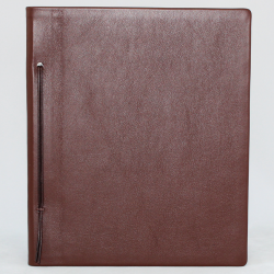 Business Folder Full Cowhide in Brown - Vera Donna