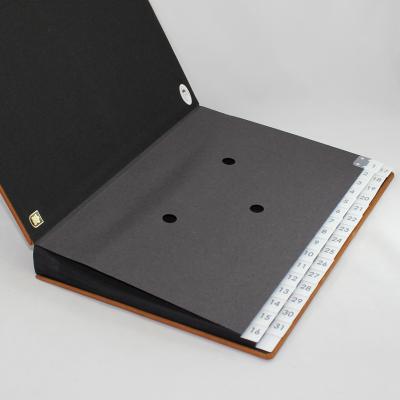 Daily Desk Folder with Nappa Leather - Vera Donna
