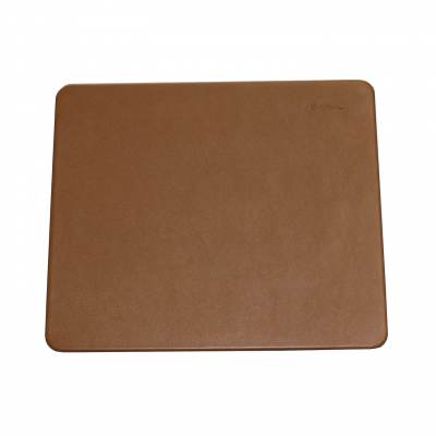 Leather Desk Pad with Matching Mousepad in Cognac