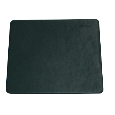 Leather Desk Pad with Matching Mousepad in Fir Green