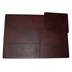 Desk Pad Shrink Leather Rustico