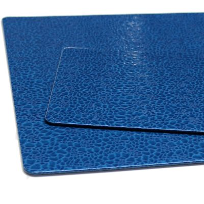 Desk Pad Blue Pearl with matching mousepad
