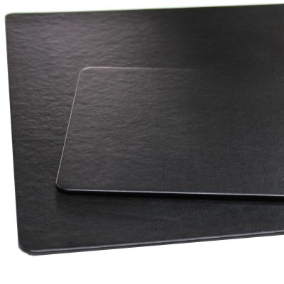 Desk Pad Memory with Matching Mousepad in Black