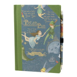 Notebook Peter Pan with Bookbinding Linen