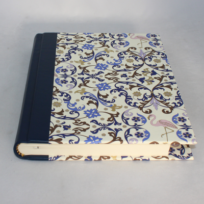Notebook Flamingo with Integrated Pen Holder